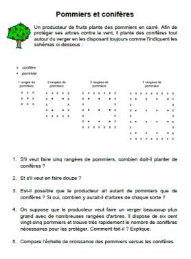 pommiers-et-coniferes